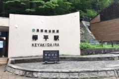 欅平駅(改札外)(1F)のオムツ替え台情報