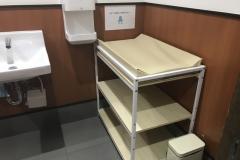 一蘭ラーメン 大阪八尾店(1F)のオムツ替え台情報