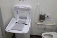 ユニバース十和田東店のオムツ替え台情報