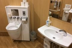 ライフ東府中店(2F)のオムツ替え台情報