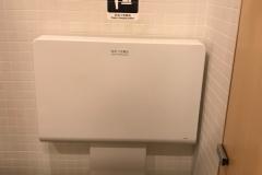スシロー ミューザ川崎店(1F)のオムツ替え台情報