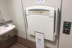 矢切駅のオムツ替え台情報