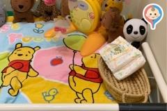 人形の福澤のオムツ替え台情報
