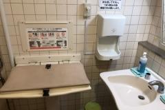 スパーク ニュー庚午店(1F)のオムツ替え台情報