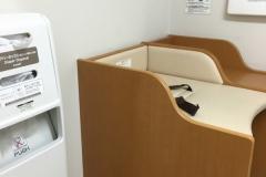 与島PA(上下集約)(1F)の授乳室・オムツ替え台情報