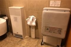 銀座三越9F 多目的トイレ(9F)のオムツ替え台情報