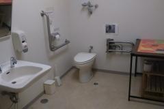 太子食品工業株式会社 日光工場(多機能トイレ)のオムツ替え台情報