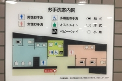 多摩川駅(1F)のオムツ替え台情報