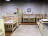 イオン高砂店(2階 赤ちゃん休憩室)の授乳室・オムツ替え台情報