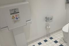 ロンハーマン神戸店(2F)のオムツ替え台情報