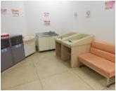 イオン江釣子店(2階 赤ちゃん休憩室)の授乳室・オムツ替え台情報