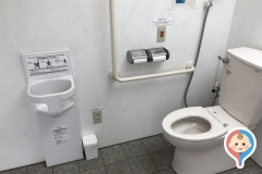 かがり火公園 多機能トイレのオムツ替え台情報
