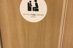 ラゾーナ川崎(4F 男子トイレ)のオムツ替え台情報