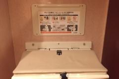 浅草セントラルホテル(2F ガスト内)のオムツ替え台情報