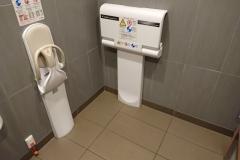 マクドナルド 市川東大和田店(1F)のオムツ替え台情報