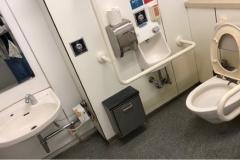 磯子駅(多機能トイレ)のオムツ替え台情報