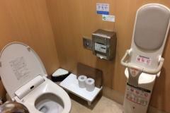 ウェルパーク 調布仙川店(1F)のオムツ替え台情報