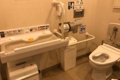 アトレ大森(3F だれでもトイレ)のオムツ替え台情報
