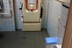 新宿御苑旧御涼亭横 トイレのオムツ替え台情報