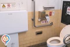 21世紀の森と広場 公衆トイレのオムツ替え台情報