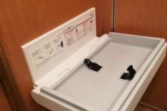 ステーキガスト 栄鍛冶ヶ谷店(1F)のオムツ替え台情報