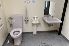 まつばら綾瀬川公園のオムツ替え台情報