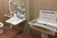 オザム|ラーレ青梅新町店(1F)のオムツ替え台情報