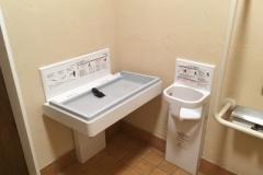 ちくら・潮風王国(多目的トイレ内)の授乳室・オムツ替え台情報