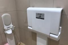 ウェルシア 鈴鹿算所店(1F)のオムツ替え台情報
