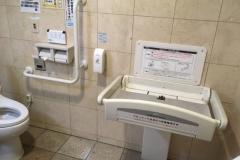 カブセンター 大野店のオムツ替え台情報