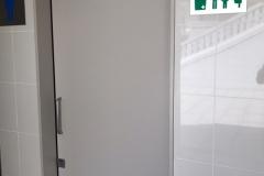 成田山 階段脇多目的トイレのオムツ替え台情報