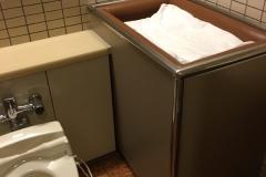 成田空港(61-62ゲート前 女子トイレ内)のオムツ替え台情報