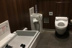 JR天王寺駅(1F 改札内)のオムツ替え台情報