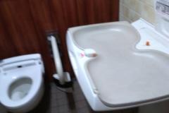 日本テレビタワー(B1F 多目的トイレ内)のオムツ替え台情報