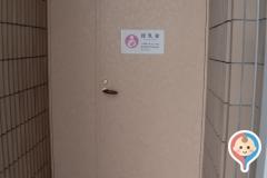 富山市民プール(1F)の授乳室・オムツ替え台情報