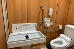 みんなのトイレ(1F)のオムツ替え台情報