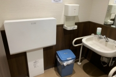 かっぱ寿司 広島呉店のオムツ替え台情報