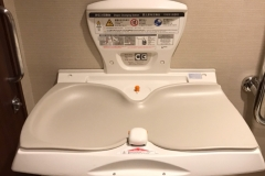 GINZA TANAKA 銀座本店(4F)のオムツ替え台情報