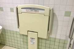 TSUTAYA 鈴鹿店(1F)のオムツ替え台情報
