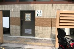 杉山公園 公衆トイレ(1F)のオムツ替え台情報