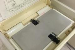 オーバルガーデン(1階トイレ)のオムツ替え台情報