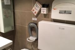 カラオケパセラ 新宿靖国通り店(1F)のオムツ替え台情報