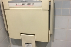 ミーオフードコート(1F)のオムツ替え台情報