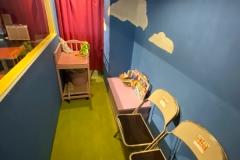 キックバック カフェ(1F)の授乳室・オムツ替え台情報