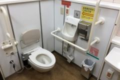 逗子駅(改札内)のオムツ替え台情報