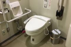 横浜税関資料展示室のオムツ替え台情報