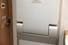 CoCo壱番屋愛甲石田店(1F)のオムツ替え台情報