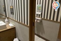 ごぱんだカフェ(1F)の授乳室・オムツ替え台情報