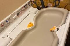 炎の回転すし武蔵丸(女性用トイレ内)のオムツ替え台情報