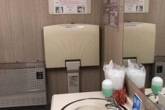 カワチ薬品 水沢北店(1F)のオムツ替え台情報
